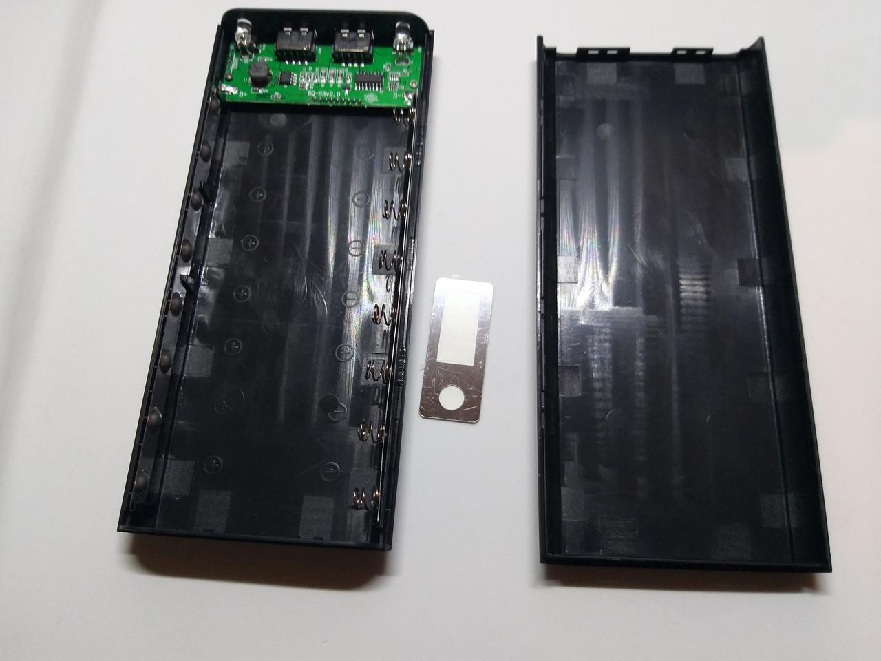 Корпус power bank. 5 В 2.0A бокс на 8X18650 с цифровым индикатором. Внешнее зарядное устройство