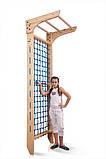 Детские спортивные гладиаторские сетки c турником «Kinder 7 - 240», фото 2