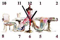 """Настенные часы МДФ  """"Мода"""" кварцевые, фото 1"""