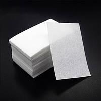 Безворсовые салфетки для маникюра упаковка 100 шт