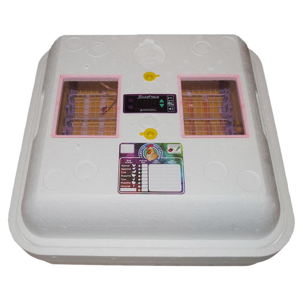 Инкубатор автоматический Рябушка Smart на 100 яиц (p100a)