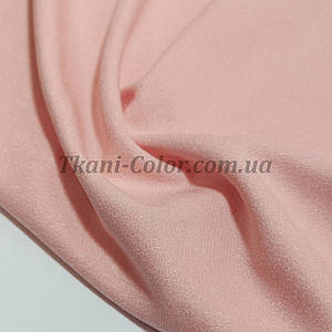 Креп-дайвинг трикотаж металлик розовый