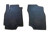 Резиновые передние коврики для Mitsubishi Outlander I 2003-2008 (STINGRAY)