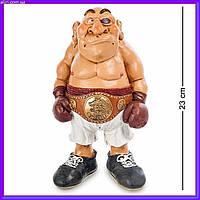 Статуэтка Боксер 22 см W.Stratford, прикольный подарок спортсмену, фото 1