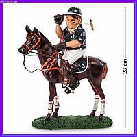 Статуэтка игрок в поло 23 см W.Stratford, прикольный подарок спортсмену, фото 1