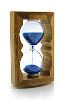 Часы песочные в бамбуке (10х6,5х3,5 см)(214)