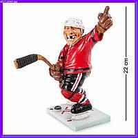 Статуэтка Хоккеист 22 см W.Stratford, прикольный подарок спортсмену, фото 1