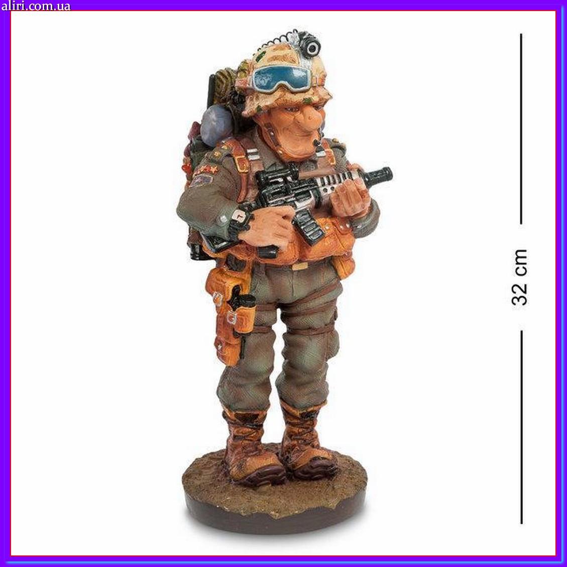 Статуэтка Военный 32 см Profisti.Parastone, прикольный подарок солдату