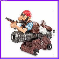 Фигурка статуэтка Пират с пушкой W.Stratford 11см, фото 1