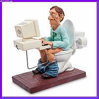 Статуэтка Программист 16 см W.Stratford, прикольный подарок программисту, фото 1