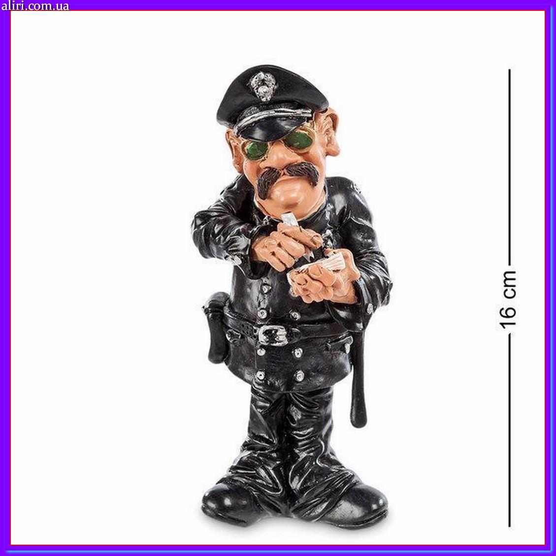 Статуэтка Warren Stratford подарок полицейскому или в коллекцию