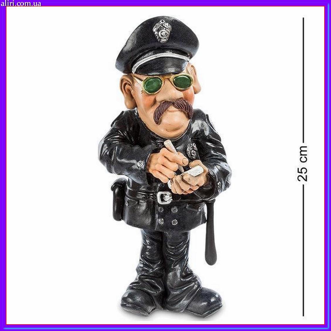 Статуэтка Полицейский 25 см W.Stratford, прикольный подарок работнику полиции