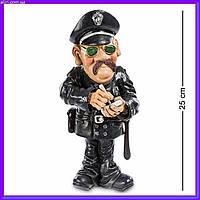 Статуэтка Полицейский 25 см W.Stratford, прикольный подарок работнику полиции, фото 1