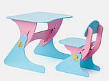 Письменный стол и стул для ребенка 2 года, фото 2