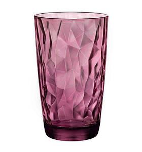 Стакан високий 470 мл Diamond Rock Purple Bormioli Rocco 350270-M0-2321990