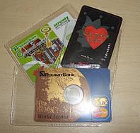 Чехол - для пластиковой карты или мини-диска (CD, DVD)
