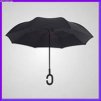 Обратный двухсторонний зонт Ангел, фото 1