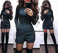 Женский комбинезон с шортами и карманами (размер С и М)