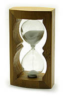 Часы песочные в бамбуке (216)(15,5)(15х8,5х5,5 см)