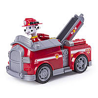 Щенячий патруль Маршал и пожарная машина Paw Patrol Marshall , Fire Truck with Pop-out Water Cannons, фото 1