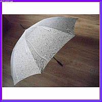 Зонтик трость полуавтомат Капли дождя, фото 1