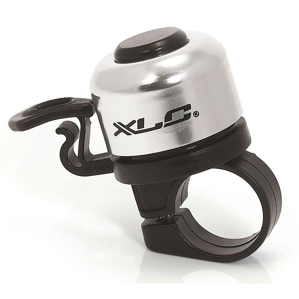 Звонок велосипедный XLC DD-M06, серебристый