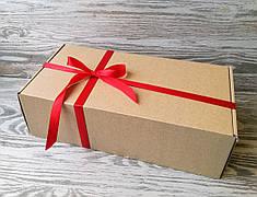 Подарочная коробка самосборная  30 * 16 * 9 см +