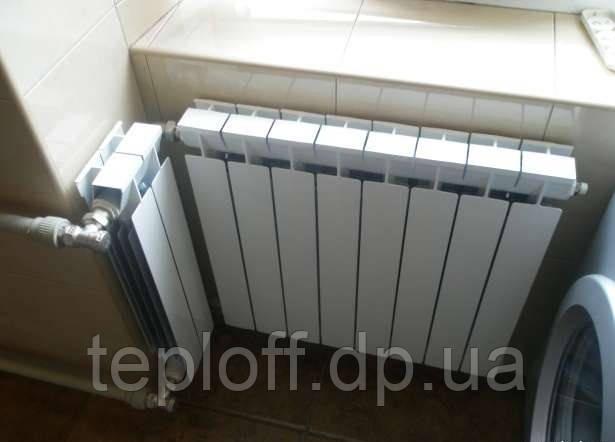 Установка, монтаж радиаторов отопления