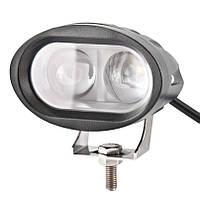 Светодиодная фара LED BOL0210L Белавто Off-Road точечная ( 2 LED*10W Cree Spot) 1440Lm