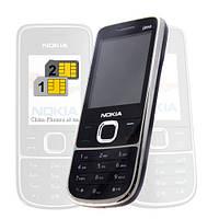 Мобильный телефон Nokia 2700 Duos 2 сим-карты корпус металл
