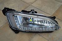 Фара противотуманная левая и правая LED на Хьюндай Санта Фе (Hyundai Santa Fe) 2012-2015, фото 1