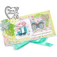 Подарочный сертификат, конверт, открытка ручной работы, под заказ