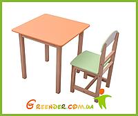 Детский комплект столик и стульчик Бук 3