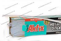"""Клеевые стержни для клеевого пистолета прозрачные """"Akfix"""" (⌀7мм) 1 кг"""