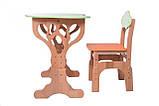 """Детский набор """"Дубок"""" Растишка (стол+ стульчик с пеналом) в 3 цветах, фото 2"""