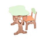 """Детский набор """"Дубок"""" Растишка (стол+ стульчик с пеналом) в 3 цветах, фото 3"""