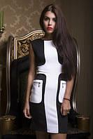 Стильное приталенное женское платье, фото 1
