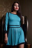 Модное женское платье из дайвинга