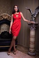 Вечернее платье на бретельках, фото 1