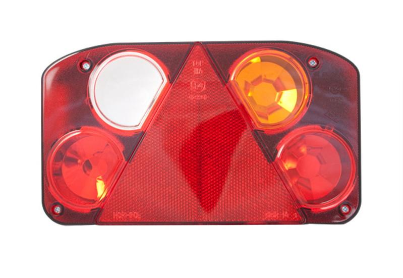 Фонарь задний с треугольником (238х138) R с задним ходом  LZT 808/1730