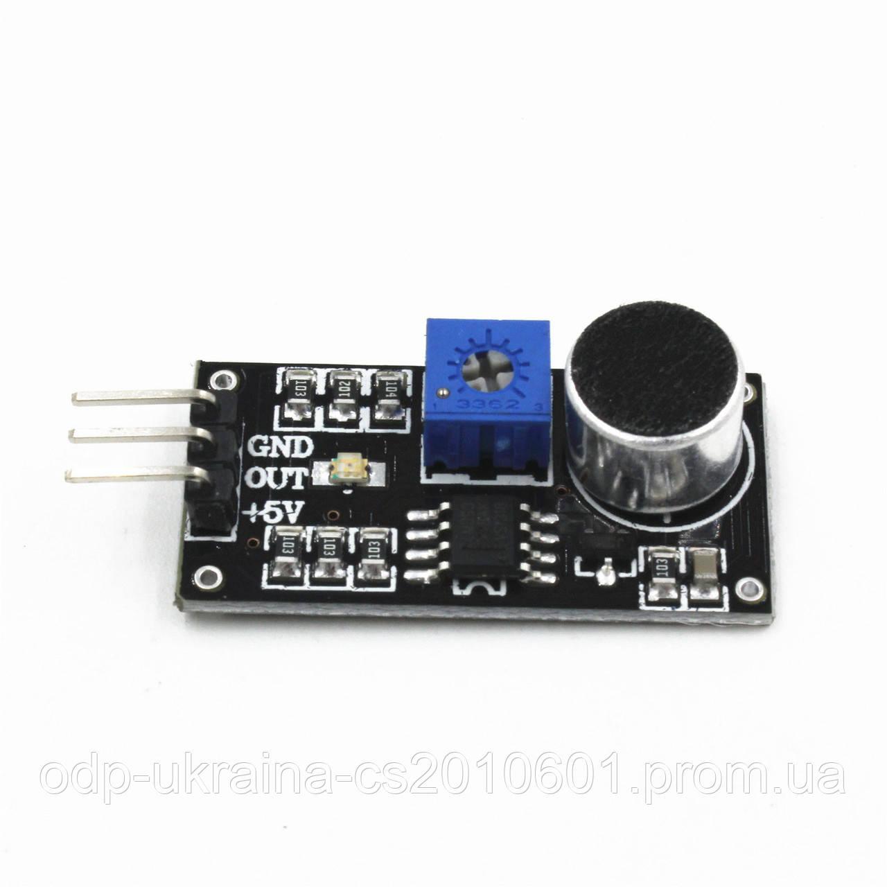Датчик звука или Акустический сенсор модуль для Arduino AVR PIC