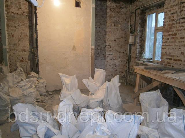 Демонтаж стен и пола в квартире в Днепропетровске