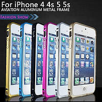 Металлический  бампер для Iphone 5/5S/5SE