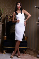 Вечернее платье с широкими бретелями, фото 1