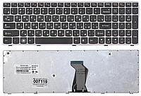 Клавиатура IBM Lenovo IdeaPad B570 B575 B580 B590 V570 V575 V580 Z570 Z575 (раскладка RU, светло-серая рамка)