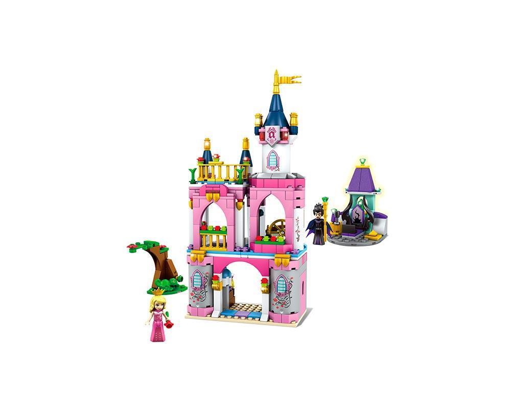 Конструктор JVToy, Принцессы, Замок для Спящей Красавицы, 385 деталей (15006)