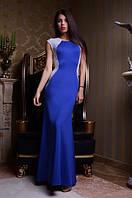 Вечернее платье с голой спиной