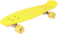Скейт Profi Action Penny Board MS 0848-2 Yellow (20181116V-522)