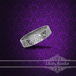 Обручальное кольцо арт. 611