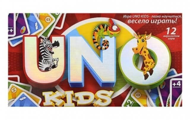 Настольная игра UNO Kids Danko Toys